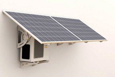 Portable Earth Friendly Solar Powered Air Conditioner