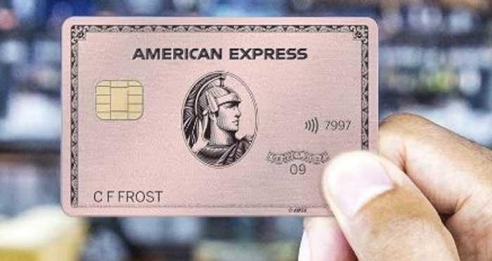 Confirm AMEX Card