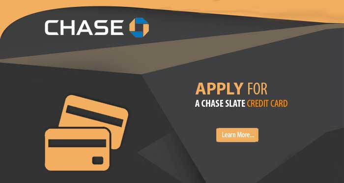 Chase Slate Credit Card—GetChaseSlate.com Invitation Number
