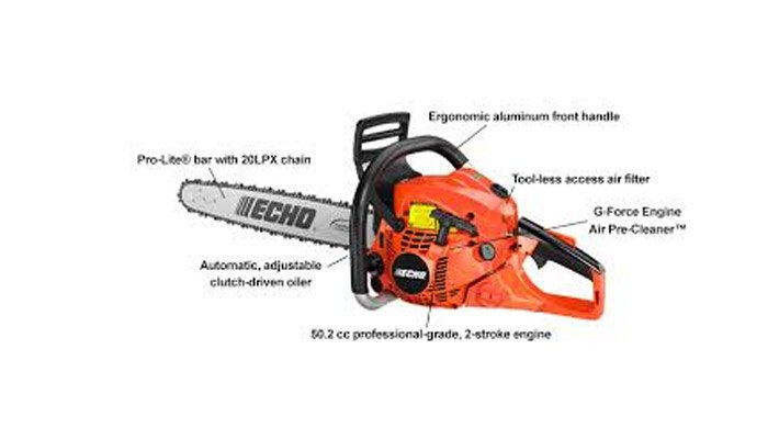 chainsaw features
