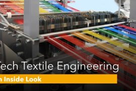 What does BTech in Textile Engineering offer to Students
