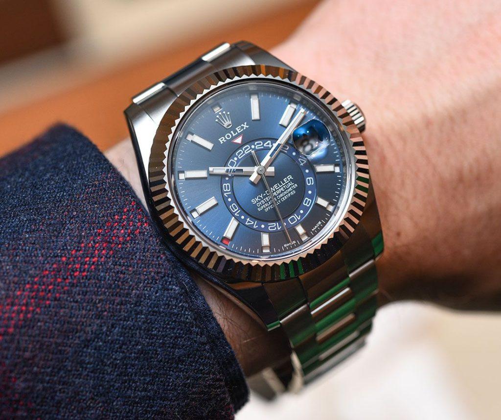 Latest Technology Luxury Style Rolex Sky Dweller Luxury Watch Models