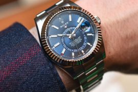 Latest Technology Luxury Style Rolex Sky Dweller Luxury Watch Models