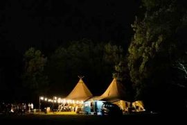 Top tips for finding the best giant tipis