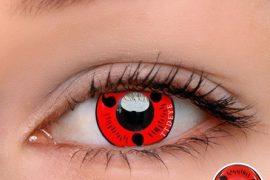 Should An Individual Wear Colorful Sharingan Contact Lenses?
